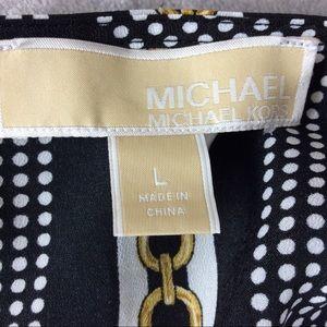 MICHAEL Michael Kors Tops - Michael Michael Kors Blouse With Tie Knot Sz L